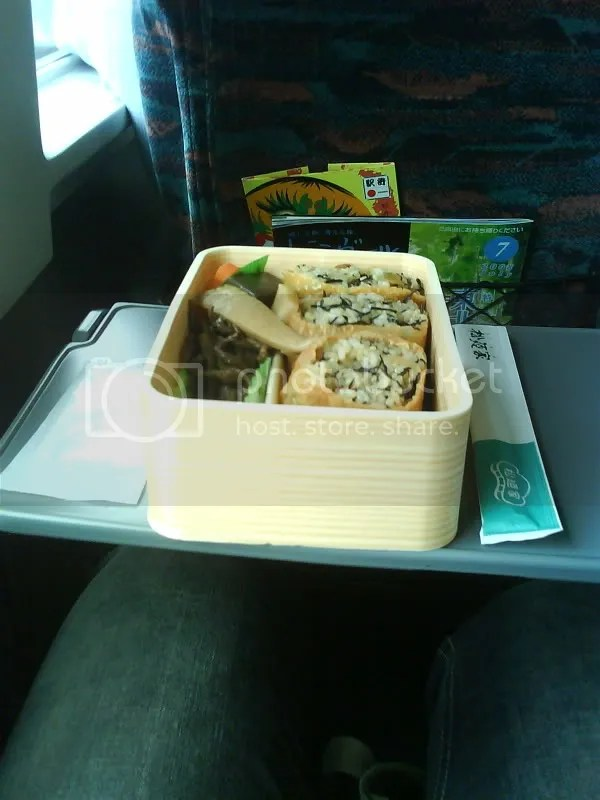 Brown rice bento (about SGD 6)