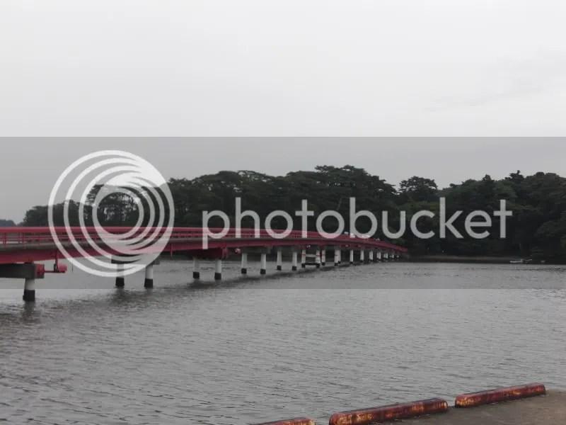 Fukuurasan bridge and island...