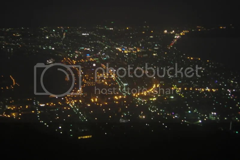 Hakodate city from above~