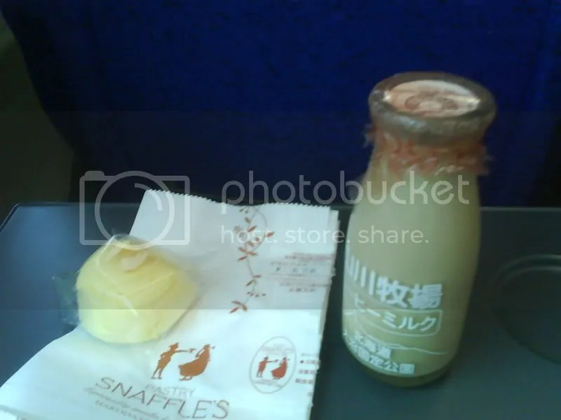 Snaffles famous omelette cheese cake and fresh coffee flavoured milk.