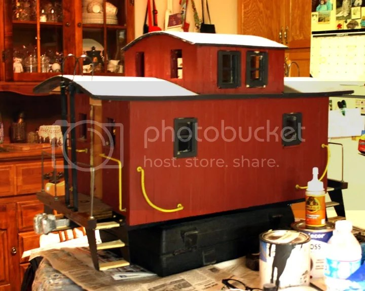 Cur Status Caboose 1 Is The L Ne Style With Cupola Since These Pictures Were Taken All Windows Are Installed As Well Cat Walks And Two Dummy