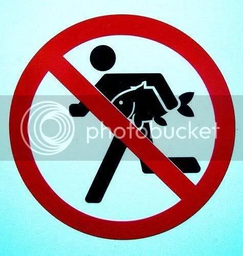 Proibido correr ao roubar um atum