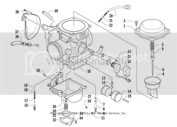 Carb Assembly ArcticChatcom Arctic Cat Forum