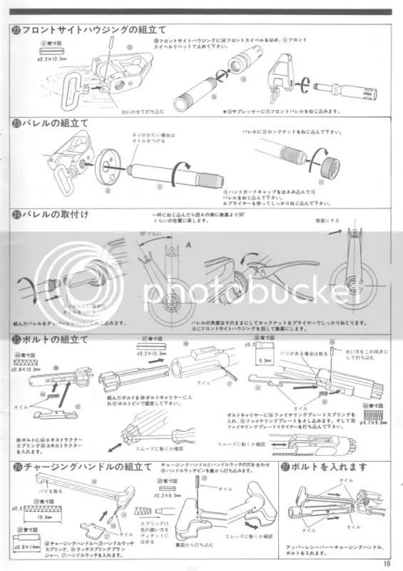 Marushin XM177E2 Instruction Manual