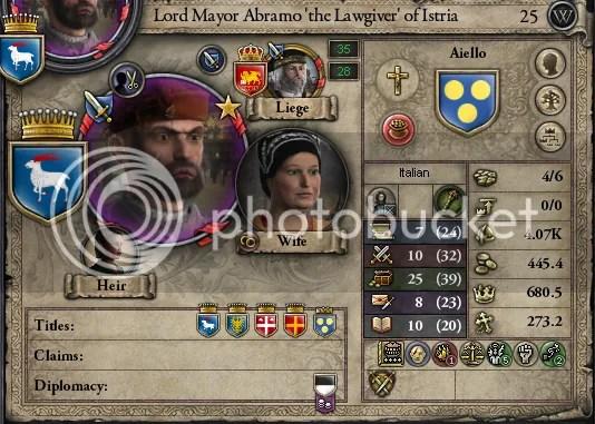 Abramo Aiello, 1214