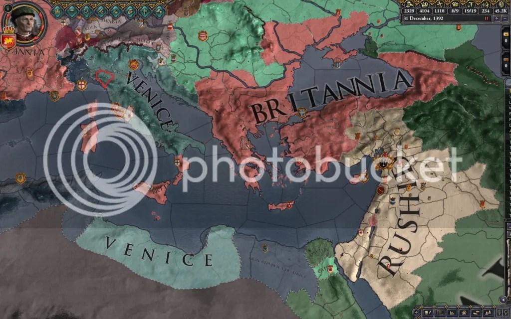 Central Med, 1392