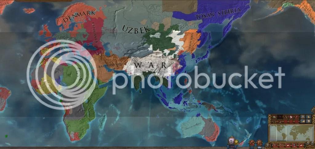 Eurasia, 1650