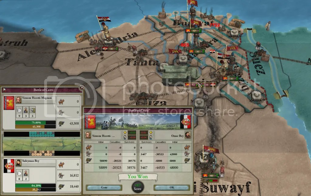 Nile Delta Fighting