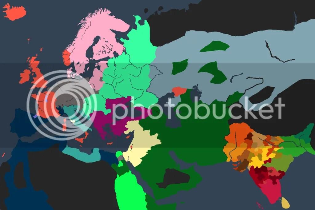 World Map, 1392
