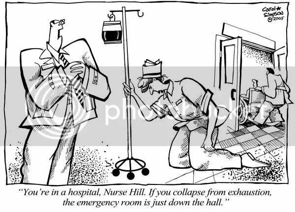 Nurse exaustion