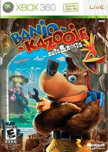 Banjo Kazooie: Nuts and Bolts- review - Wolf's Gaming Blog