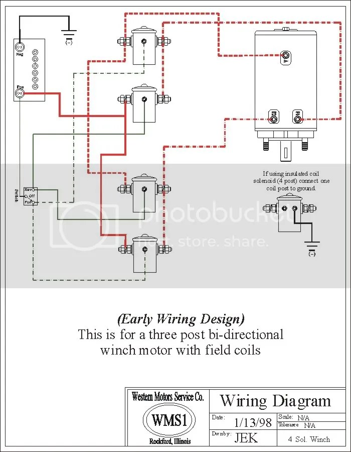 Warn Winch Contactor Wiring Diagram Awesome Warn H1000ac Electricold on