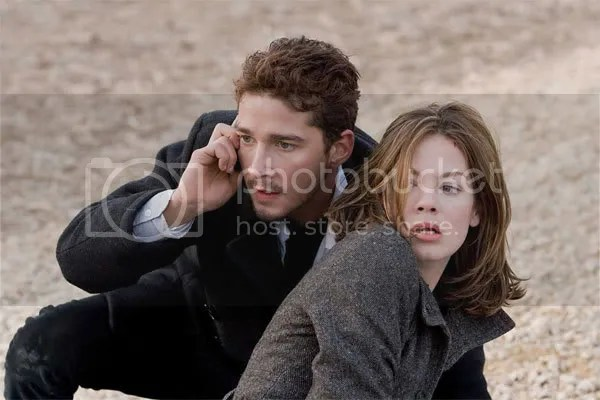 Shia LaBeouf and Michelle Monaghan - Eagle Eye