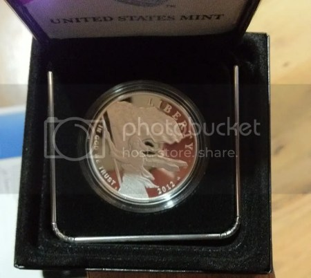 Scott's Silver Proof Coin