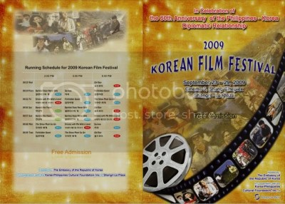 Korean Film Festival 2009