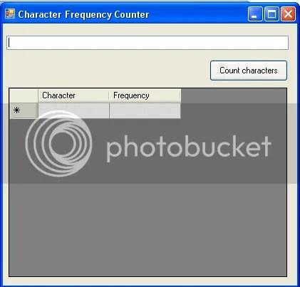 character counter program