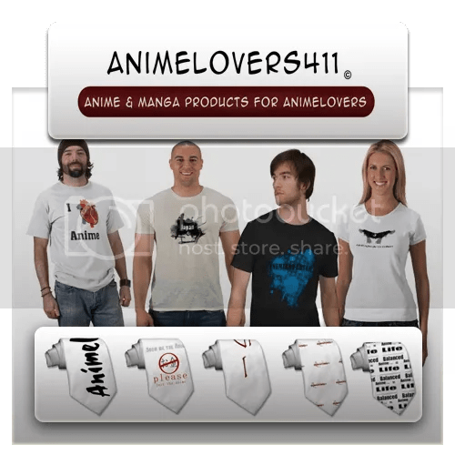 Animelovers411 -Zazzle products