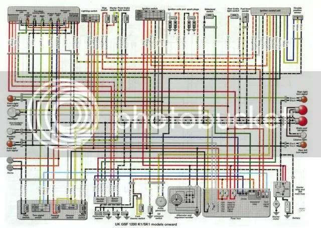 suzuki bandit 1200 wiring diagram 2001 jetta radio 2004