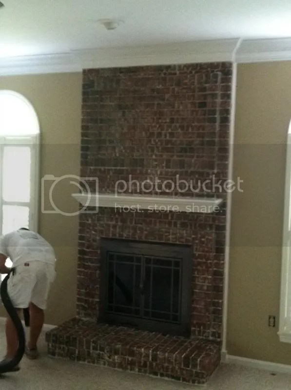 How To Remove Paint From Interior Brick Fireplace