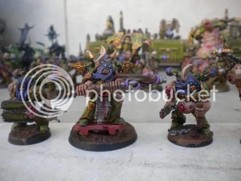 AJ's Chaos Nurgle Army