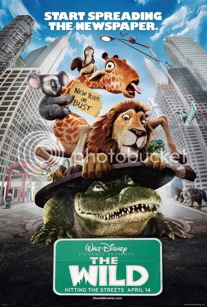 Um... tengo un dejá vu, una jirafa, un leon, animales de zoo en la ciudad... Esto me suena.