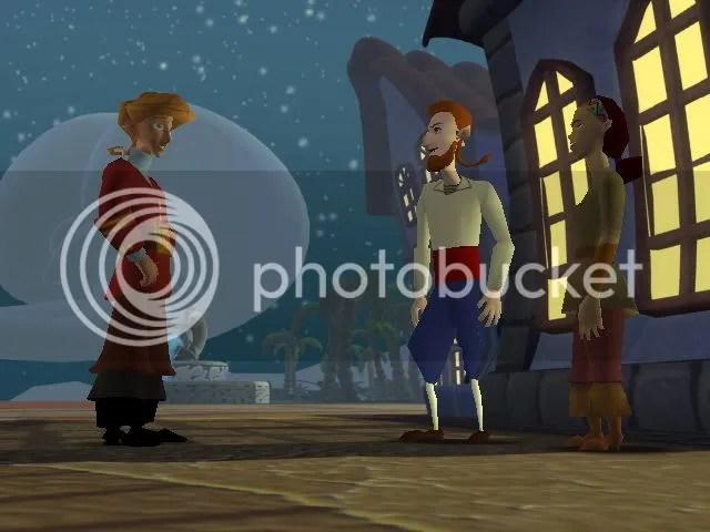 Hay que ver como pierden algunos personajes trasladados a las 3D, esa de ahi es la reina de las espadas, se supone.