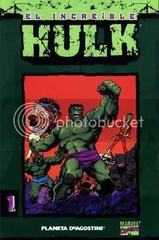 Empezando por el Hulk de Byrne, el tio está en tooodas partes.