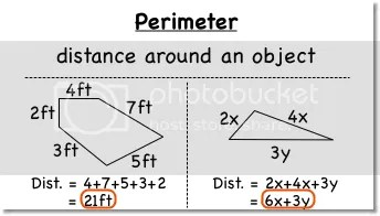 Perimeter and Area of Rectangles