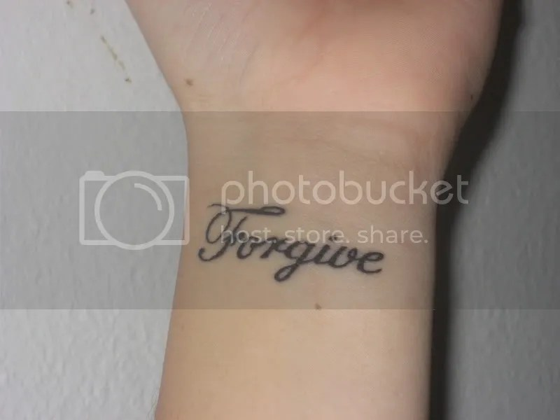 And this is my sisters Tattoo. quote. I have 2 kids & live in Florida