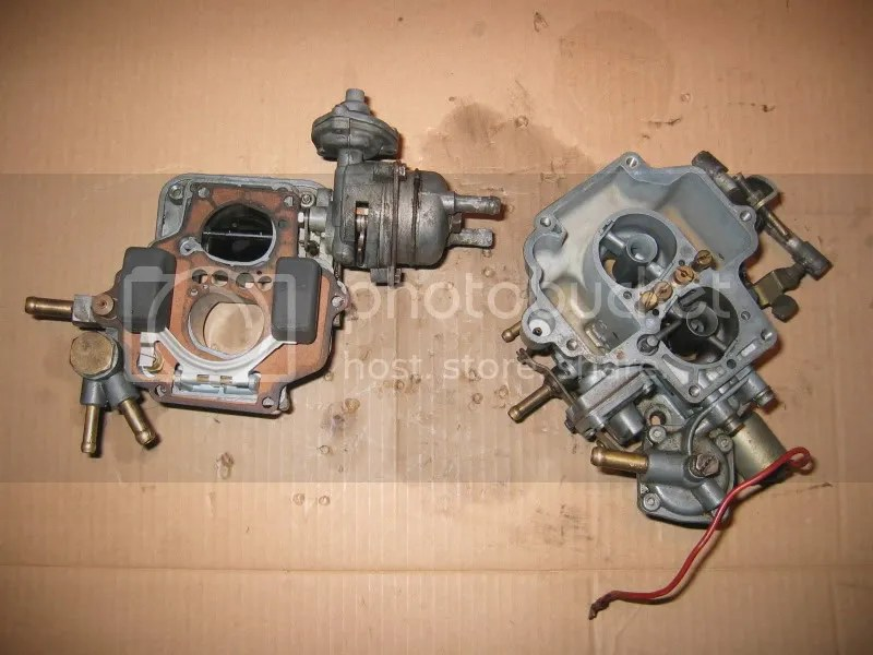 Lancia Beta carburetor