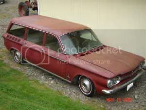 1962 Chevrolet Corvair Lakewood front