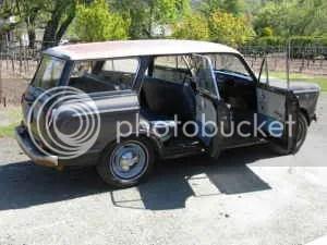1962 Datsun 312 wagon side