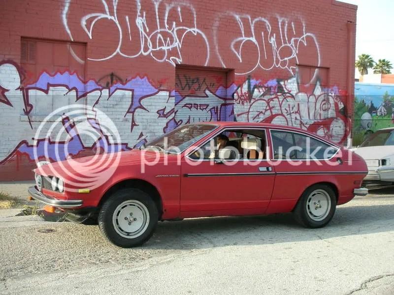 1979 Alfa Romeo Sprint Veloce in the hood