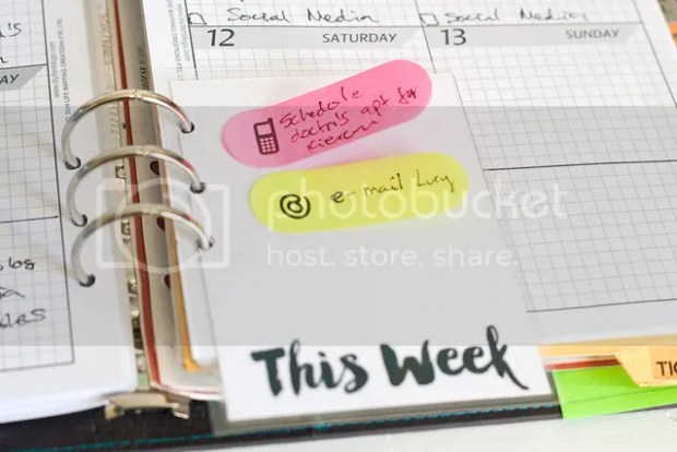 22 Ways to Use project Life Cards - This Week