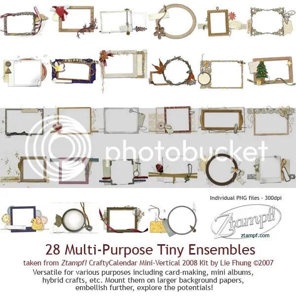 Ztampf! Tiny QuickPages Set 08 MV
