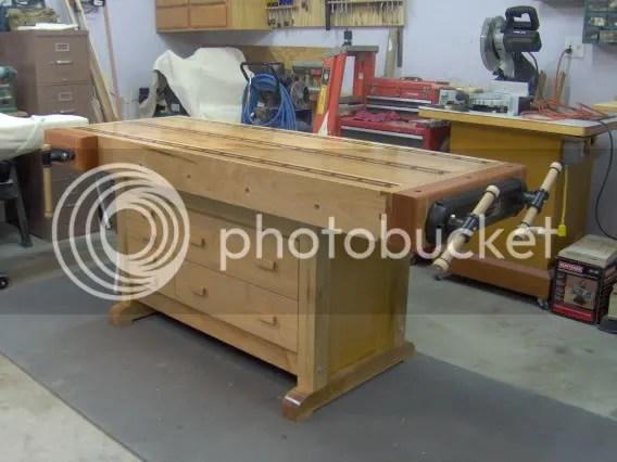 Red Oak Workbench