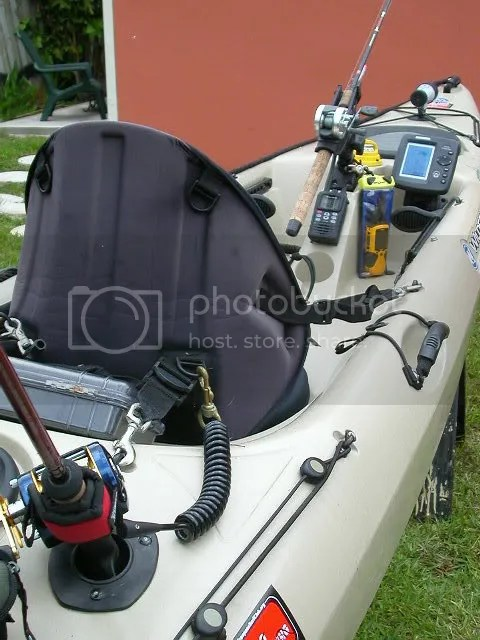 tricked out kayak