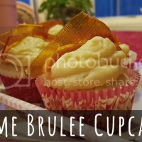 Valentine's Day is whenever I want -- Creme Brulee Cupcakes