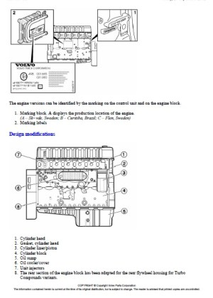 Volvo FM12, D12D420 New engine variants Sensor | Auto