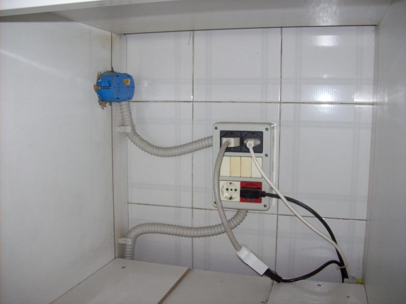 Impianto Cucina Posizione Prese Elettrodomestici  Installazione impianti elettrici civili e