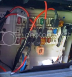 i have added many things to that fuse block radar detector homelink transmitter cb fog light relay power led glove box lights hella tpms all with  [ 1024 x 768 Pixel ]