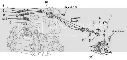 Service manual [2005 Mitsubishi Galant Gear Shift Console