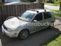FS: Brand New ProRack P-Bar Black Roof Rack (4DR Mk4 Golf ...