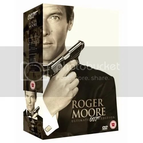 Roger Moore box set - UK release (why didnt the US get this?)