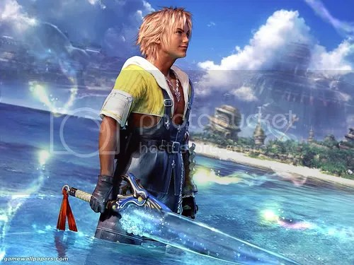 I hate you, Tidus.