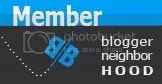 Blogger Neighborhood Badge
