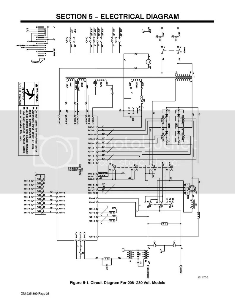 Miller Syncrowave 200 PC1 Control board //or// Hall Sensor