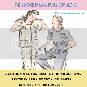 Vintage Pajama Party Sew Along