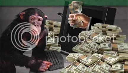 monkeys and money