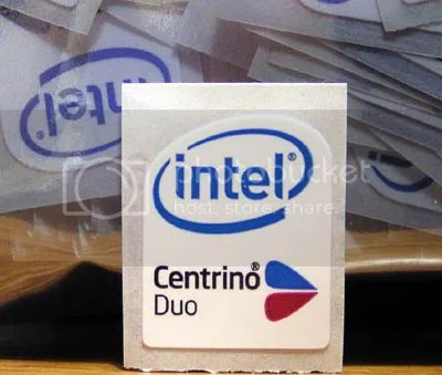 Intel Centrino Duo 16mm x 19mm